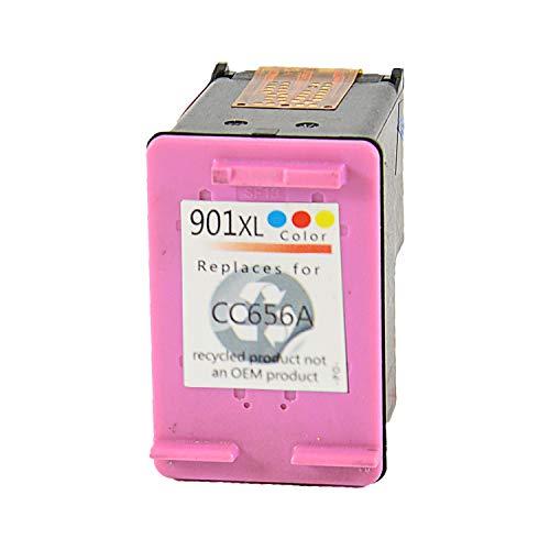 Bubprint Druckerpatrone kompatibel für HP 901 XL für OfficeJet 4500 Wireless J4500 J4524 J4535 J4540 J4545 J4550 J4580 J4600 J4585 J4624 J4660 J4680 J4680C Farbe