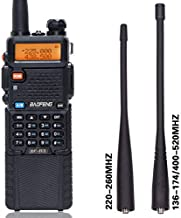BaoFeng BF-R3 Tri-Band 136-174/220-260/400-520Mhz with 2 Antennas 3800mAh Battery Amatuer Portable UV-5R Transmitter Two Way Radio