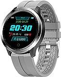 TYX-SS Termómetro Reloj Inteligente Monitor de Temperatura Corporal Hombres y Mujeres Rastreador de Ejercicios Medidor de presión Arterial Reloj Inteligente Bluetooth-re