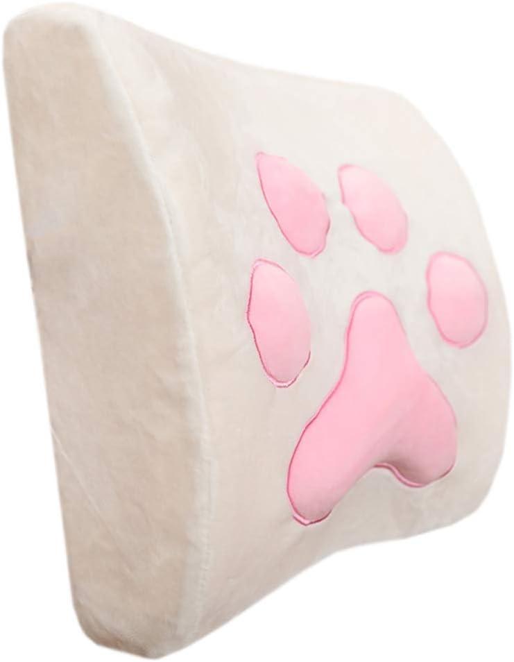 Surprise price Lumbar Pillows Quantity limited Cartoon Memory Foam Soft Pillow Waist Back