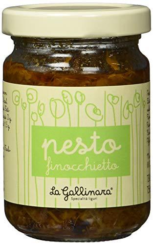 La Gallinara Pesto al finocchietto, mit wildem Fenchel, 1er Pack (1 x 130 g)