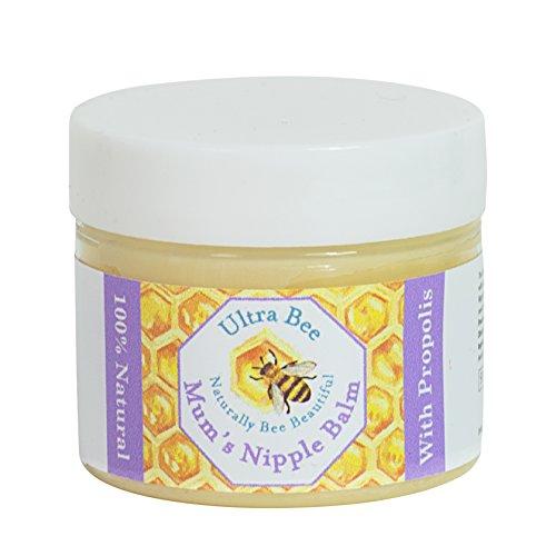 Ultra Bee 100% Natürlicher Still-Nippel-Entlastungsbalsam, 50 ml
