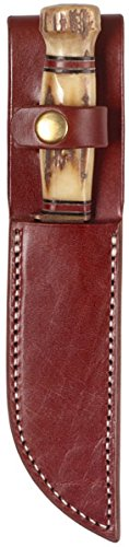 Triple K Knife Plain Sheath, Walnut Oil, 6-Inch