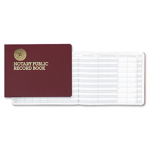 Dome Notary Public 8 1/2 x 10 1/2 Inch 60-Page Record Book (880)
