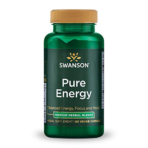 Swanson Pure Energy, 60 vcaps