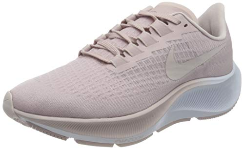 Nike Women's WMNS AIR Zoom Pegasus 37 Running Shoe, Champagne/Barely Rose-White, 3.5 UK