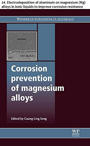 Corrosion prevention of magnesium alloys: 14. Electrodeposition of aluminum on magnesium (Mg) alloys in ionic liquids to improve corrosion resistance (Woodhead ... Series in Metals and Surface Engineering)