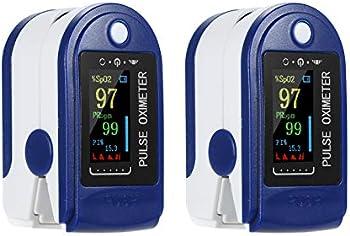 2-Pack Decdeal Oxygen Sensor Digital Fingertip Pulse