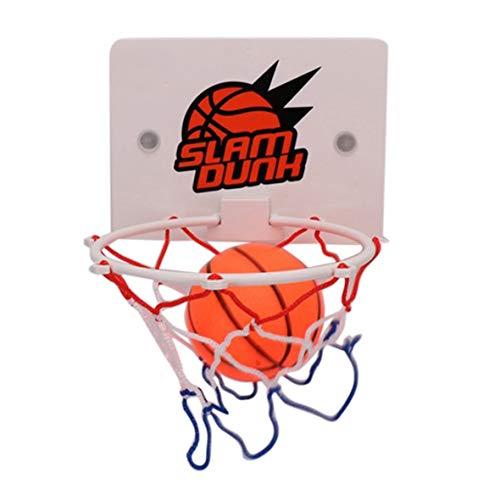 Pennytupu Tragbare lustige Mini-Basketballkorb Spielzeug Kit Indoor Home Basketball Fans Sportspiel Spielzeug Set Kinder Kinder Erwachsene
