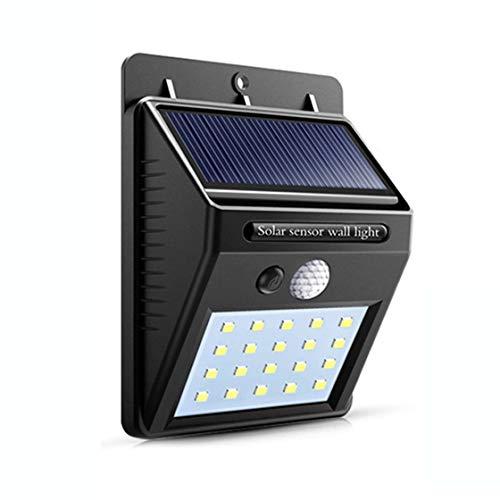 Jessicadaphne Waterdicht 20 LED Solar Lights Motion Sensor Wandlamp inductielamp Buiten