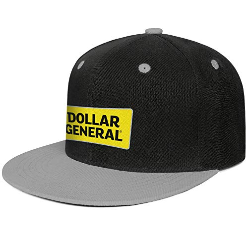Uonqyjhd Dollar General Logo Snapback Baseball Cap Printing All Cotton Caps Printed Youth Men Women's Unisex Hat