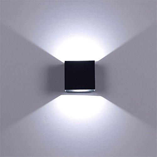 Vinteen LED Extérieure Étanche Mur Lampe Lumière Allée Couloir Jardin Lumières Balcons Extérieurs Moderne Mur Surface Éclairage Décoration Double Tête Mur Lumière Applique Murale
