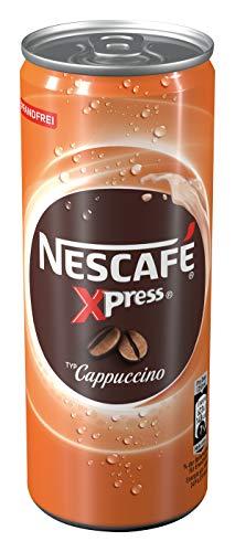 NESCAFÉ Xpress Cappuccino, ready to drink Eiskaffee, 1er Pack (1 x 250ml)