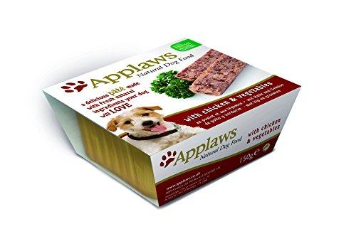Applaws Schale Pate Huhn und Gemüse, 7er Pack (7 x 150 g)