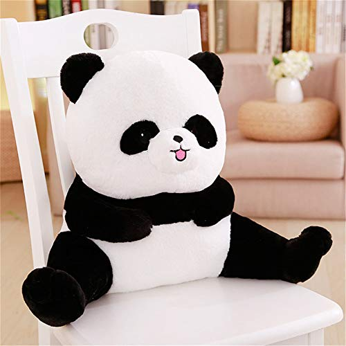SAMILLEE Bed Rest Reading Pillow,Plush Toy Reading Cushion Support Bed Backrest Pillow Plush Cover Read Watch TV in Comfort While in Bed, Relax Without Back Pain (Cute Panda,55cm)