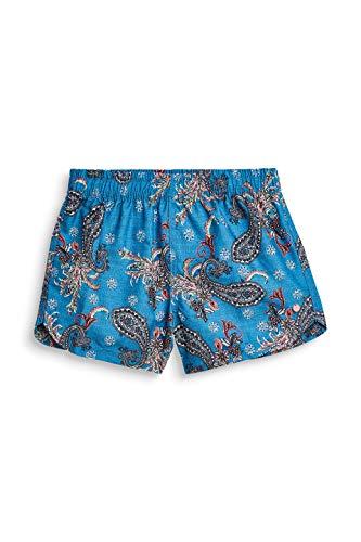 ESPRIT Mädchen Pescadero Beach Yg Surf Shorts Badeshorts, Blau (Dark Blue 405), 140 (Herstellergröße: 140/146)