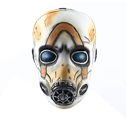 Máscara psicópata Yacn Borderlands 3 Legends Ojos con luz LED Accesorios de Cosplay de Fiesta de Halloween para niños (Led Legends Mask)