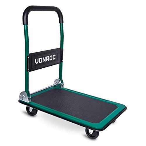VONROC Transportwagen – Klappbar – Traglast max. 150 kg.