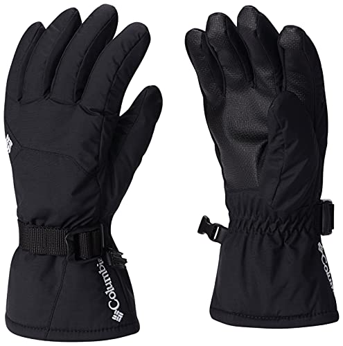 Columbia Youth Whirlibird Gloves, Black, Small