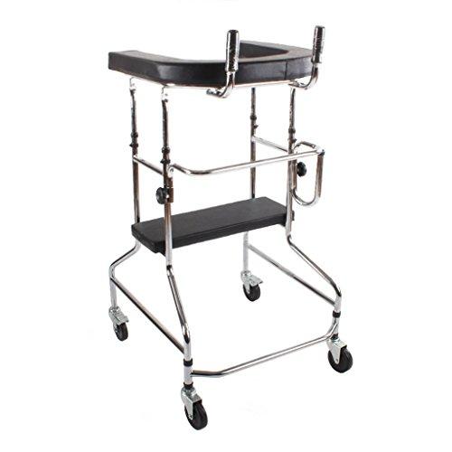 PIGE Equipo de rehabilitación/Equipo de rehabilitación y Entrenamiento de Miembros Inferiores Soporte de pie peatonal/Andador/Andador/armazón de pie con Dispositivo de rehabilitación de Ruedas