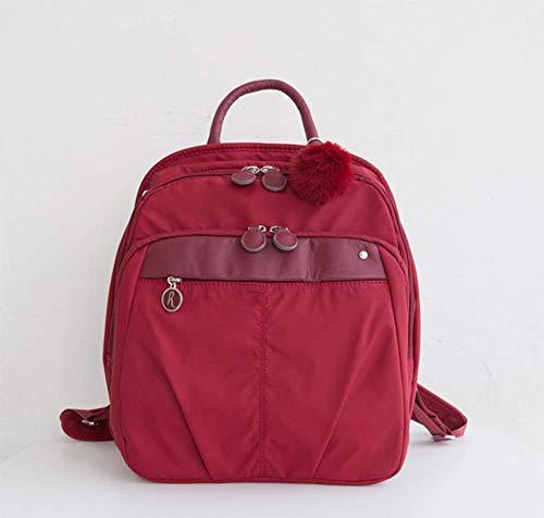 Zhongshanshiyoukeshidian Women's mobiele rugzak, dames multifunctionele tas, anti-diefstal veiligheid rugzak   voor het leren, bedrijf, kantoor