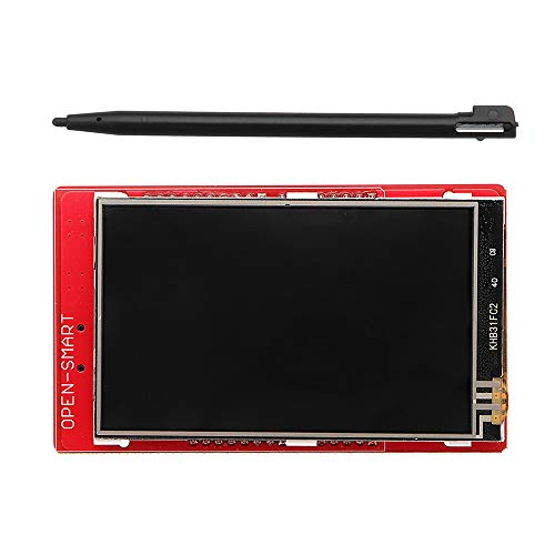 BouBou 3.2 Inch Tft Lcd Display Module Touch Screen Shield Onboard Temperature Sensor+Pen For Uno R3/ Mega 2560 R3 / Leonardo Open-Smart For Arduino - Products That Work With Official Arduino Board