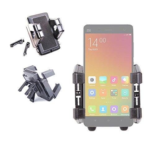 DURAGADGET Soporte para Coche para Xiaomi MI4   MI Note (Pro)   MI 4i   Mi 2a - ¡Ideal para La Rejilla De Ventilación!
