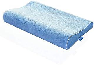 Hhxiao - Almohada viscoelástica transpirable para el cuidado de la salud del cuello con funda lavable