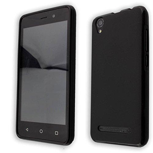 caseroxx TPU-Hülle für Medion Life E4504 MD 99537, Handy Hülle Tasche (TPU-Hülle in schwarz)