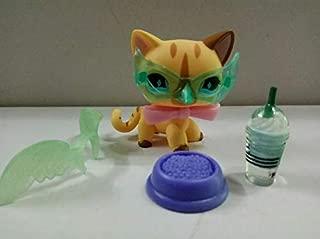 Littlest Pet Shop LPS#886 Shorthair Cat w/5pcs Accessories