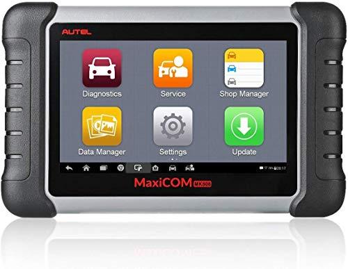 Autel MaxiCOM MK808 OBD2 - Herramienta de diagnóstico con Todas Las Funciones del Sistema y Servicio, Incluyendo reinicio de Aceite, EPB, BMS, SAS, DPF, TPMS e IMMO (MD802 + MaxiCheck Pro)