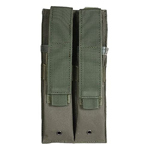 Dual MP 5 Mag Pouch Olive Drab