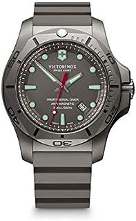 Victorinox - Hombre I.N.O.X. Professional Diver Titanium - Reloj de Caucho/Titanio de Cuarzo analógico de fabricación Suiza 241810