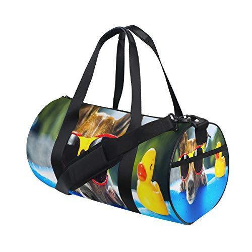 Hund-Luftmatratze, Sporttasche, Reisetasche, Reisetasche mit verstellbarem Riemen, Rucksack, Wochenendtasche, Gepäck, Tragetasche für Männer und Frauen