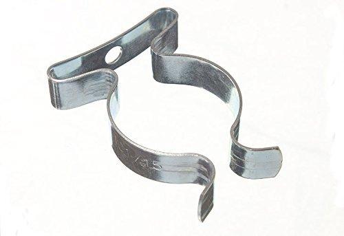 Paquet de 10 matériels de rangement printemps Terry Clips 3/4 pouce BZP 19mm