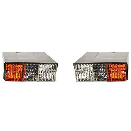 Vorne Seitenblinker/Blinker Lampe Deutz Fahr Traktor satz von Links & Rechts (ohne glühlampen)