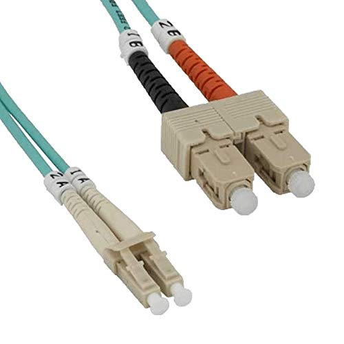 Fiber Patch Cable OM3 Multimode Duplex Fiber Optic Cable 50/125µm |...