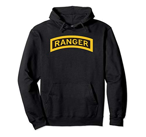 US Army Ranger Tab - Centered Pullover Hoodie