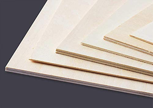 Tableros de CONTRACHAPADO Fenólico. Cortados a Medida. Fabricados en España. Calidad Profesional. (A5 (Espesor 4mm), 5) (A3 / Espesor:5mm / 3 Tableros)