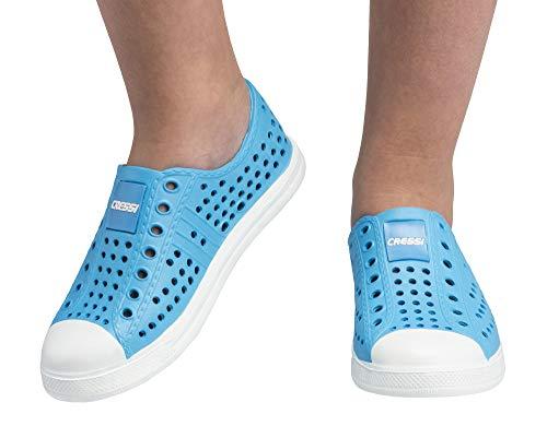 Cressi Premium Wassersportschuhe Pulpy Shoes, Royal Blau/Weiß, 30, XVB948230