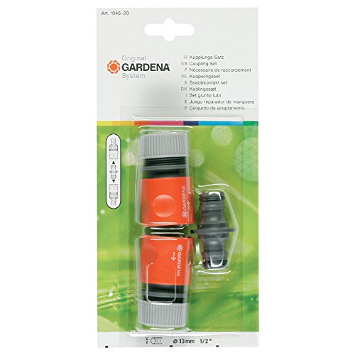 Gardena 1045-20 SB-System-Kupplungs-Satz Inhalt: 2 x 915, 1 x 931