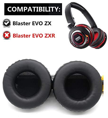 Ersatz-Ohrpolster für Creative Sound Blaster EVO ZX kabellose Kopfhörer