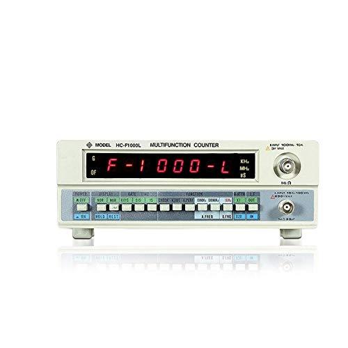 ScottDecor Multímetro Metros Abrazadera Medidor de frecuencia HC-F1000L Medidor de Potencia Digital de Alta precisión 1Hz-1GHz Industrial 8 dígitos Contador de frecuencia Digital