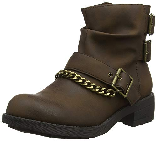 Rocket Dog Damen Tavin Biker Boots, (Brown C00), 4 EU