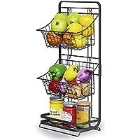 MOUKABAL 3-Tier Mini Vegetable/Fruit Storage Basket