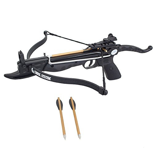 Prophecy 80 Pound Self-Cocking Pistol Crossbow with...