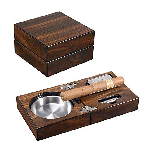 Tauzveok Cadeaux de cigares à la Main Luxueux Humidor Cadeaux pour Hommes Accessoires de cigares, humidificateur d