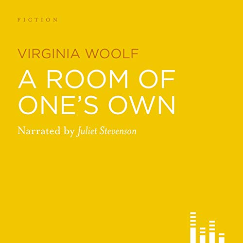 a room of ones own Audible Book Cover