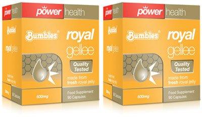 (2 Pack) - Power Health - Bumbles Royal Gellee 500mg PH-BUR590 | 90's | 2 PACK BUNDLE