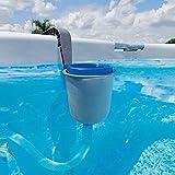 Intex 58949Skimmer Deluxe Grande (para bombas a partir de 3.028) ideal para piscinas grandes.